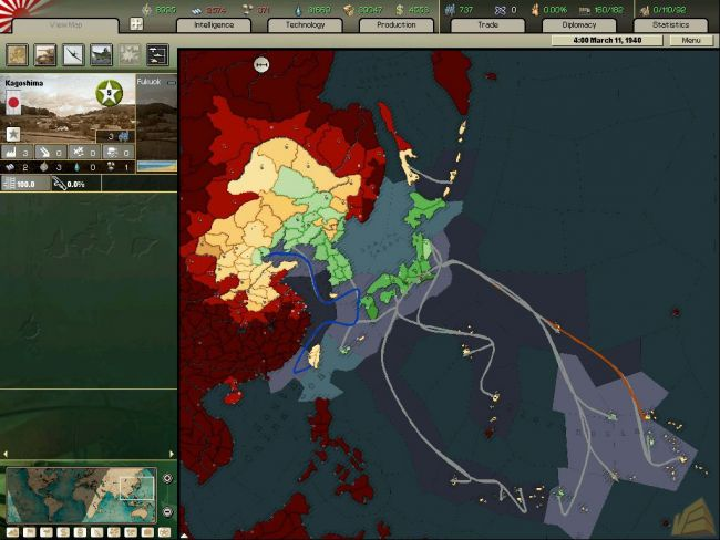 Hearts of Iron: Arsenal of Democracy - Screenshots - Bild 11