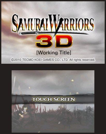 Samurai Warriors 3D - Screenshots - Bild 5