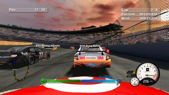 Days of Thunder: NASCAR Edition - Screenshots - Bild 6