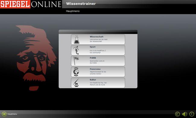 Spiegel Online: Wissenstrainer - Screenshots - Bild 4
