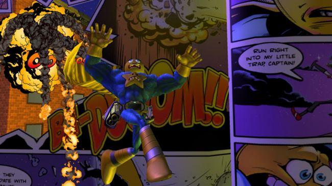 Comic Jumper: The Adventures of Captain Smiley - Screenshots - Bild 1