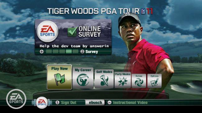 Tiger Woods PGA Tour 11 - Screenshots - Bild 1