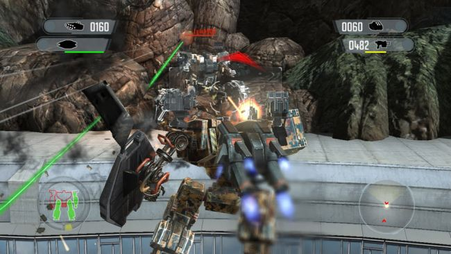 Front Mission Evolved - Screenshots - Bild 4