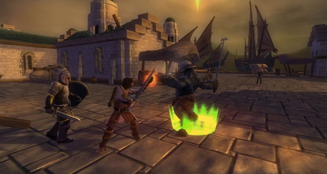 The Lord of the Rings: Aragorn's Quest - Screenshots - Bild 2