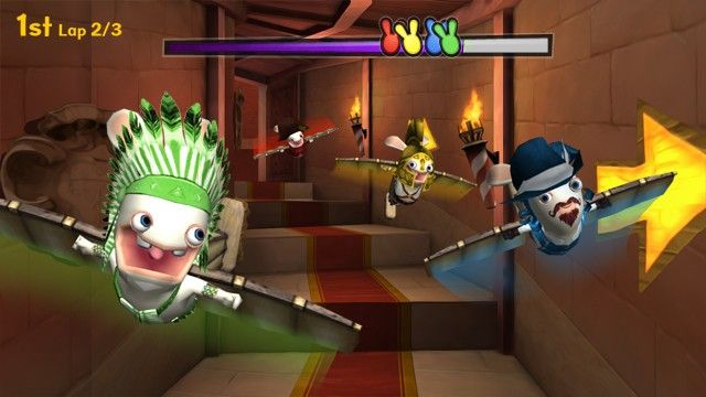 Raving Rabbids: Travel in Time - Screenshots - Bild 1
