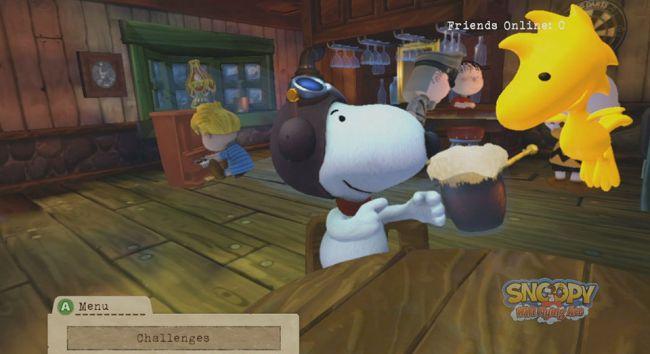 Snoopy Flying Ace - Screenshots - Bild 9