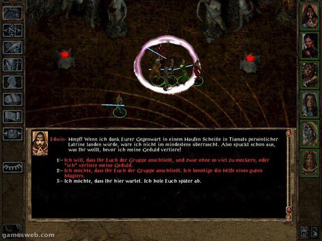 Baldur's Gate II: Thron des Bhaal - Screenshots - Bild 3