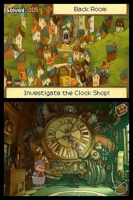 Professor Layton und die verlorene Zukunft - Screenshots - Bild 17