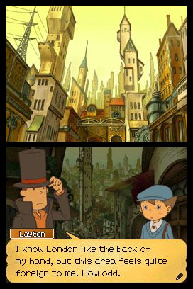 Professor Layton und die verlorene Zukunft - Screenshots - Bild 27