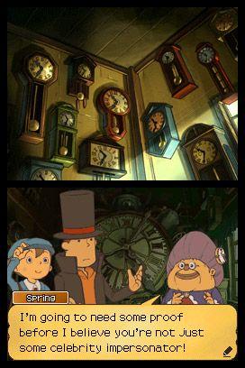 Professor Layton und die verlorene Zukunft - Screenshots - Bild 20