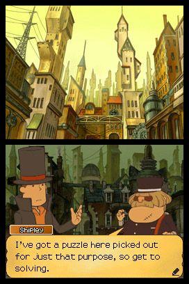 Professor Layton und die verlorene Zukunft - Screenshots - Bild 15