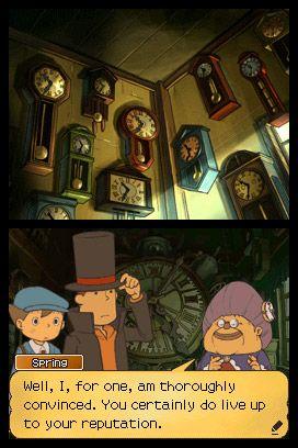 Professor Layton und die verlorene Zukunft - Screenshots - Bild 18