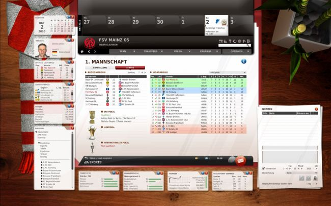 Fussball Manager 11 - Screenshots - Bild 1