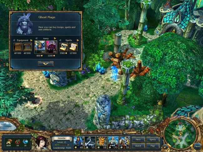 King's Bounty: Crossworlds - Screenshots - Bild 4