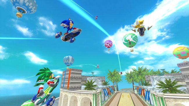Sonic Free Riders - Screenshots - Bild 18