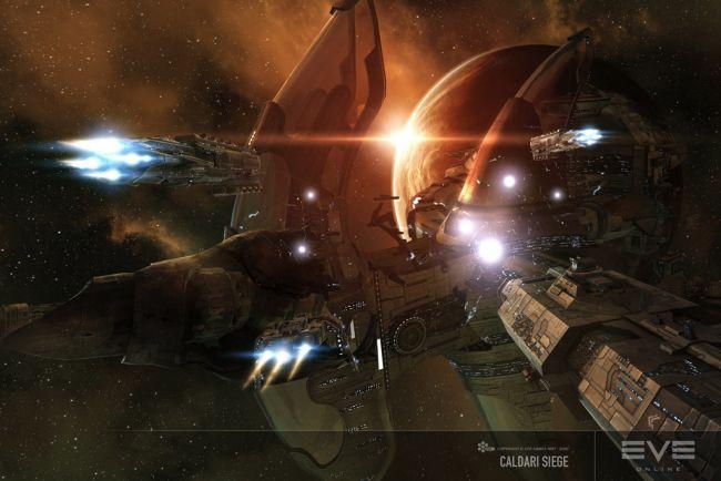 В MMO-галактике EVE Online прошло одно из самых массовых за всю историю кос