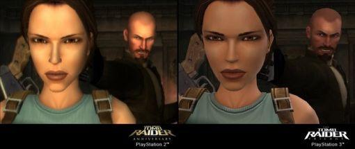 The Tomb Raider Trilogy - Vergleich PS2 / PS3 - Screenshots - Bild 1