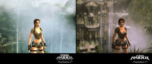 The Tomb Raider Trilogy - Vergleich PS2 / PS3 - Screenshots - Bild 4