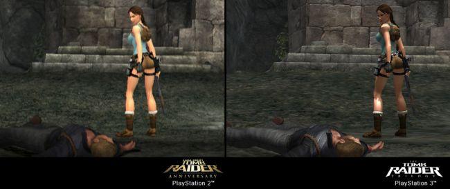 The Tomb Raider Trilogy - Vergleich PS2 / PS3 - Screenshots - Bild 8