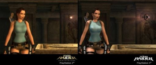 The Tomb Raider Trilogy - Vergleich PS2 / PS3 - Screenshots - Bild 3