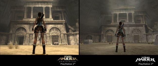 The Tomb Raider Trilogy - Vergleich PS2 / PS3 - Screenshots - Bild 9