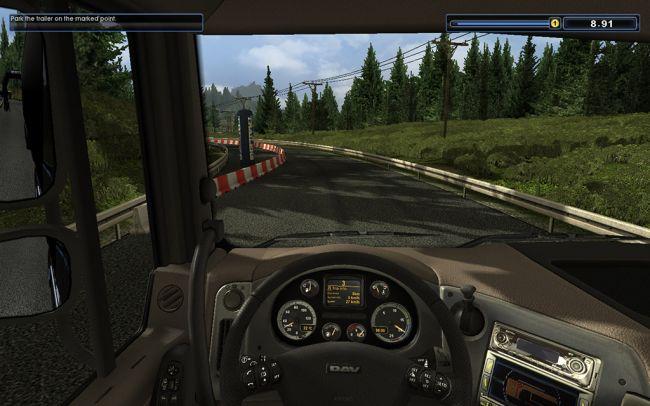 Euro Truck Spezial: LKW-Rangier-Simulator - Screenshots - Bild 6