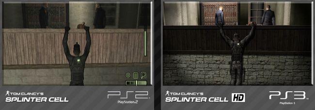 Tom Clancy's Splinter Cell Trilogy HD Vergleich PS2 / PS3 - Screenshots - Bild 7