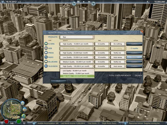Luxus Hotel Imperium - Screenshots - Bild 5