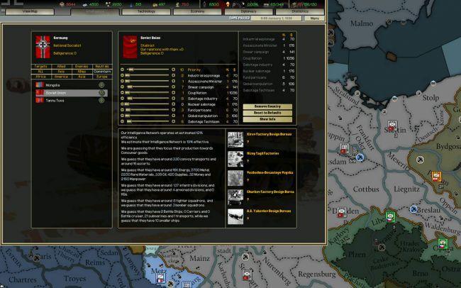 Hearts of Iron: Darkest Hour - Screenshots - Bild 9