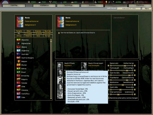Hearts of Iron: Darkest Hour - Screenshots - Bild 3