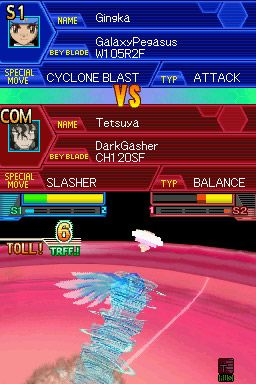 Beyblade Metal Masters: Nightmare Rex - Screenshots - Bild 1