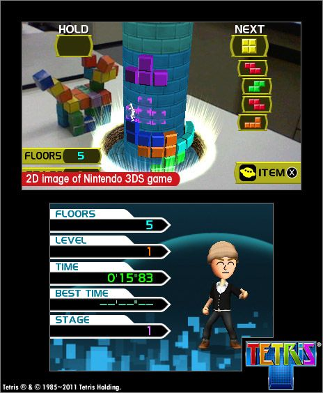 Tetris - Screenshots - Bild 2
