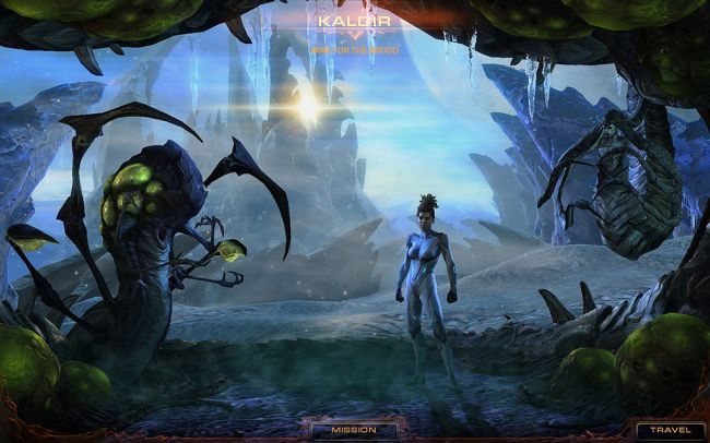 StarCraft II: Heart of the Swarm - Screenshots - Bild 20