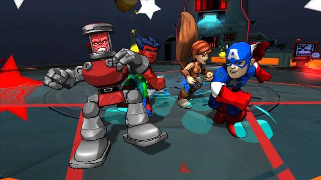 Marvel Super Hero Squad: Comic Combat - Screenshots - Bild 2