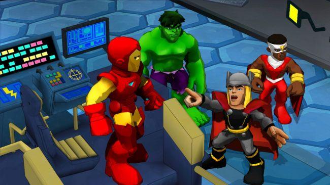Marvel Super Hero Squad: Comic Combat - Screenshots - Bild 1
