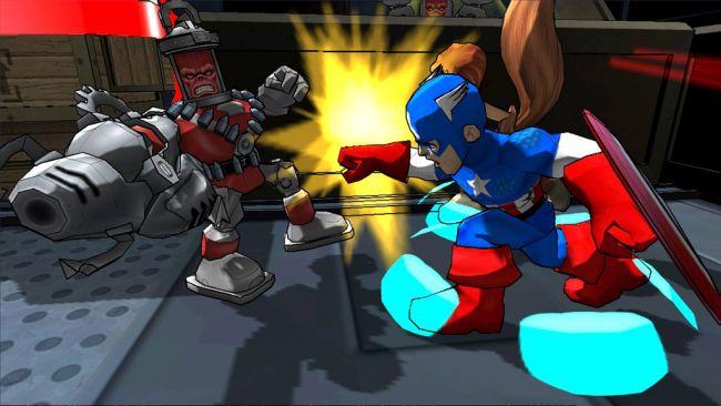 Marvel Super Hero Squad: Comic Combat - Screenshots - Bild 3
