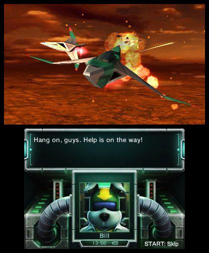 Star Fox 64 3D - Screenshots - Bild 4