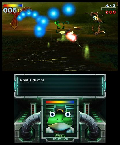 Star Fox 64 3D - Screenshots - Bild 2