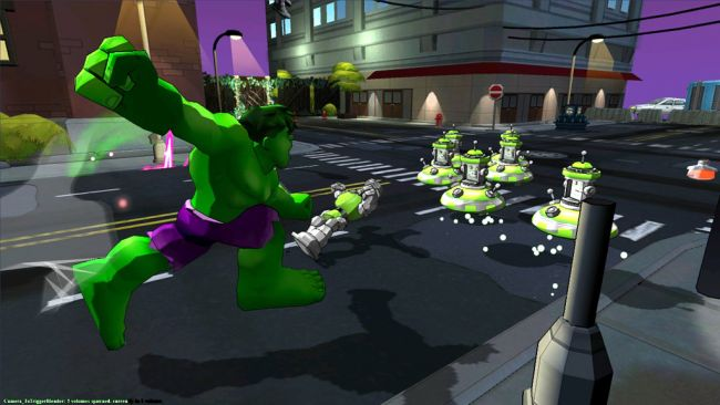 Marvel Super Hero Squad: Comic Combat - Screenshots - Bild 4