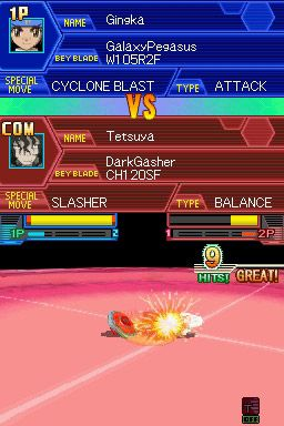 Beyblade: Metal Masters - Screenshots - Bild 3