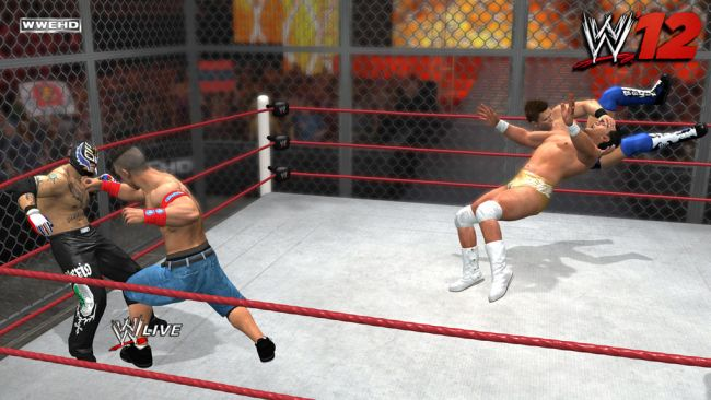 WWE '12 - Screenshots - Bild 2