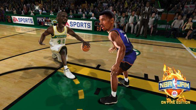 NBA JAM: On Fire Edition - Screenshots - Bild 5
