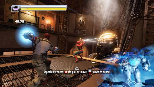 Spider-Man: Edge of Time - Screenshots - Bild 5