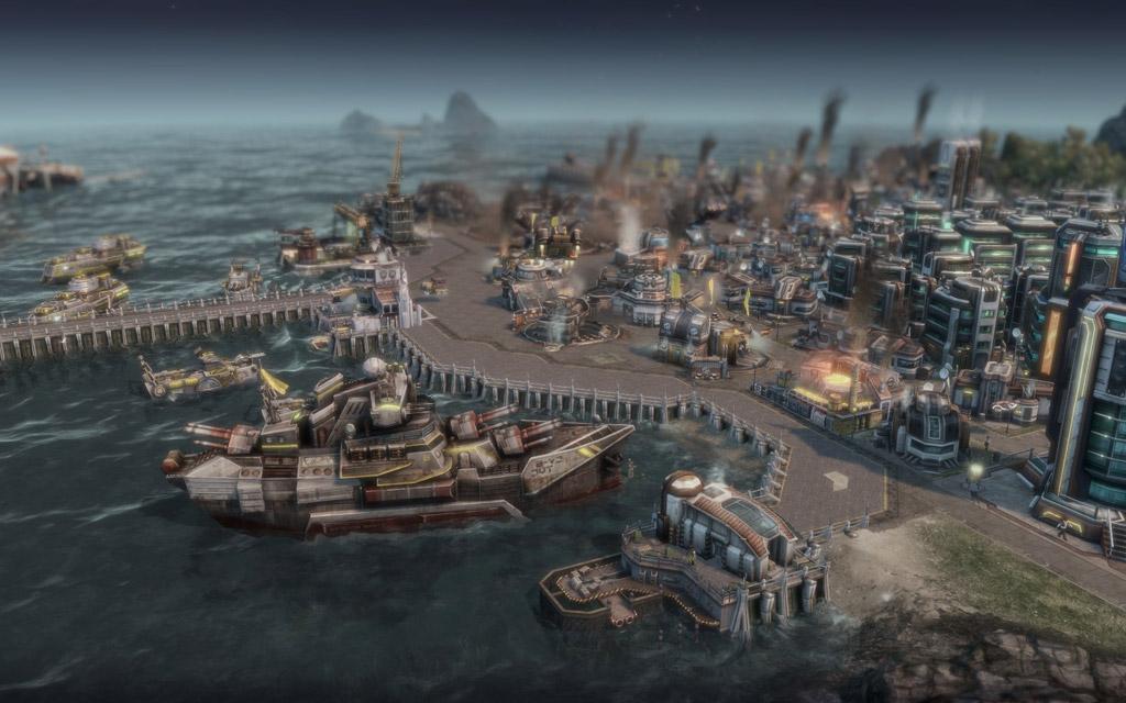 подводные лодки в anno 2070