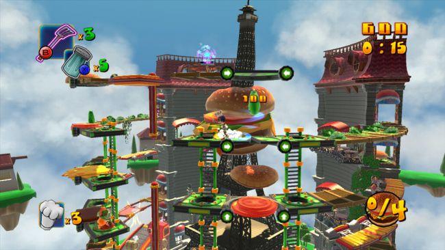 BurgerTime World Tour - Screenshots - Bild 8