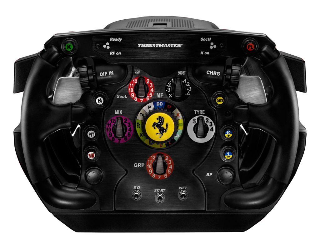 thrustmaster ferrari f1 wheel integral t500 fahren wie im. Black Bedroom Furniture Sets. Home Design Ideas