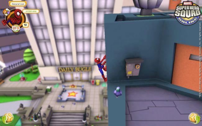 Marvel Super Hero Squad Online - Screenshots - Bild 3