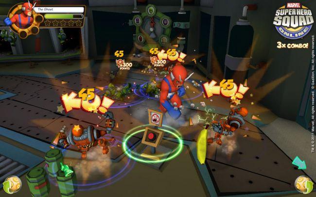 Marvel Super Hero Squad Online - Screenshots - Bild 4