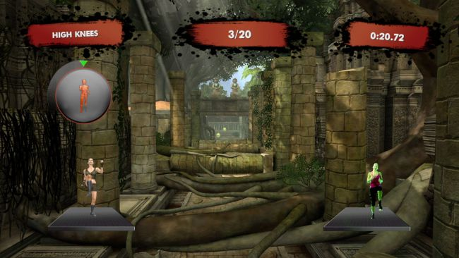 Jillian Michaels' Fitness Adventure - Screenshots - Bild 6