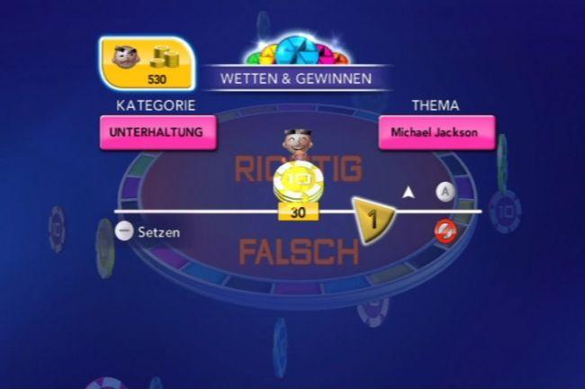 Trivial Pursuit Wetten & Gewinnen - Screenshots - Bild 1